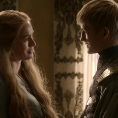 Joffrey gets advice from his <a href=