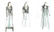 Dark Sansa costume concept art
