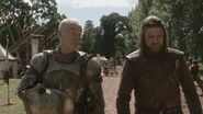 Barristan and Eddard