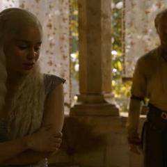 Jorah tells Dany to trust him in