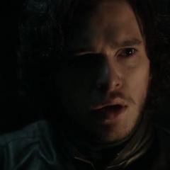 Jon encounters a wight at Castle Black in