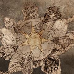 Сім променів зірки є символом Семероєдиного Бога