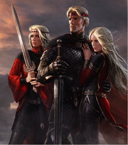 File:Aegon with sisters by Amok.png