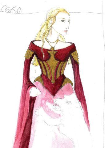 File:Cersei Season 3 costume concept art.jpg