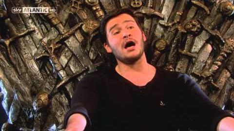 Game Of Thrones Daniel Portman (Podrick) Sings The Rains of Castamere