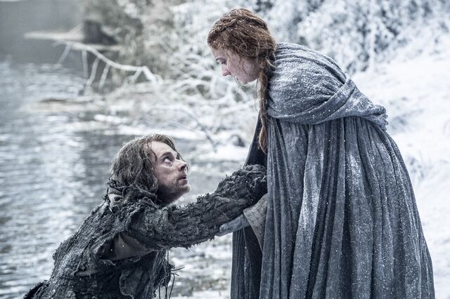 File:Sansa and Theon Season 6.jpg