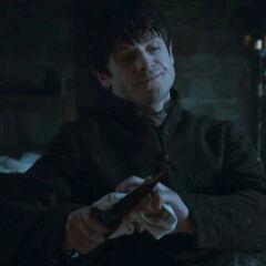 Ramsay depois de assassinar Osha.
