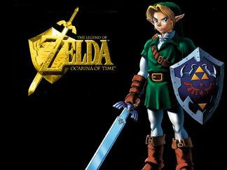 The Legend of Zelda Ocarina of Time-b