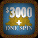$3000 + One Spin Cyan