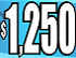 $1250 Cyan