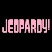 Jeopardy! Logo in Pink