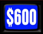 Jeopardy! 1984-1985 $600 Dollar Figure
