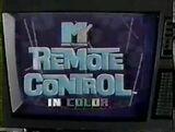 MTVs Remote Control 1987 Pilot