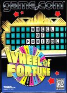 Tiger Game Com Wheel Of Fortune cover 2