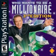 Who Wants To Be A Millionaire 3rd Edition Playstation Game