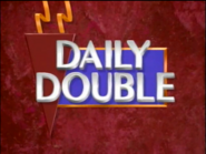 Jeopardy! 1993 College Championship Daily Double intertitle