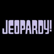 Jeopardy! Logo In Lavender