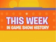 This Week In Game Show History