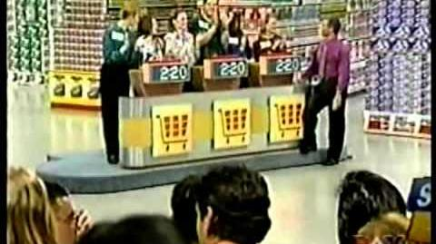 Supermarket Sweep- Twin Car Giveaway Ashley & Emma vs. Jill & Andrew vs
