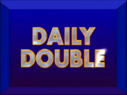 Jeopardy! 1998-1999 Daily Double intertitle