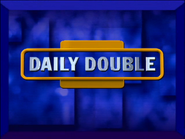 Jeopardy! 2000-2001 Daily Double intertitle