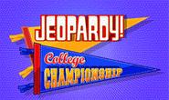 Jeopardy! Season 28 College Championship Title Card