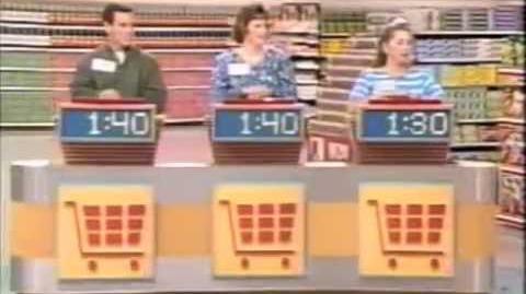 Supermarket Sweep - Karin & Dan vs. Julie & Michelle vs