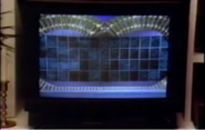 TV with Puzzleboard