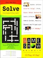 Game Show Network 1997 Crossword ad