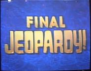 Jeopardy! 1991-1992 Final Jeopardy intertitle