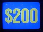 Jeopardy! 1984-1991 $200 figure