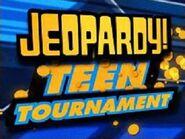 Jeopardy! Season 22 Teen Tournament Title Card