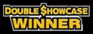 Double Showcase Winner Winning Graphic