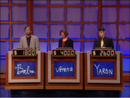 Jeopardy! sushi bar set contestant podiums 1