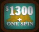 $1300 + One Spin