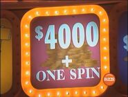 $4,000 + One Spin in pinkish lavender
