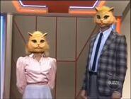 Super Password Cat Masks