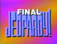 Final Jeopardy -86