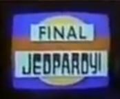 Final Jeopardy! Yellow Circle