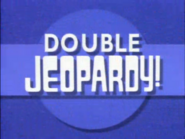 Double Jeopardy! Blue Circle Ident