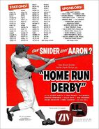Home Run Derby 4-25-1960