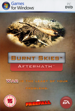 Burnt Skies Aftermath Front Cover