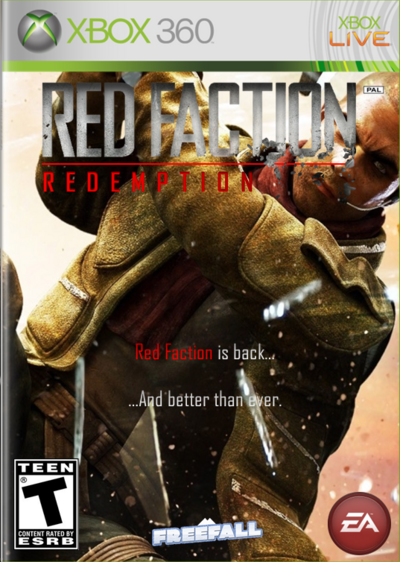Red Faction Redemption Front Cover