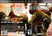 Red Faction Redemption Box Art - PlayStation 3