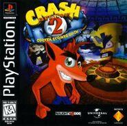Crash Bandicoot 2 NA boxart