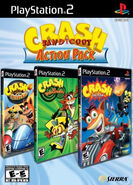 Crash Bandicoot Action Pack PS2 NA