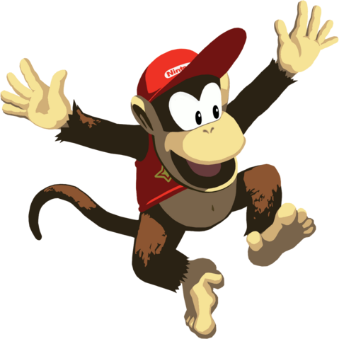 File:Diddy Kong Artwork.png