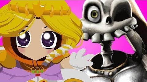 (APRIL FOOLS) Princess Kenny Vs Sir Daniel- Gaming All Star Rap Battles