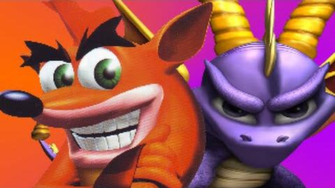 Crash Bandicoot Vs Spyro the Dragon- Gaming All Star Rap Battles Season 3