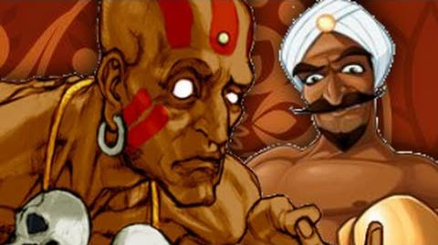 (THANKSGIVING) Dhalsim Vs Great Tiger- Gaming All Star Rap Battles